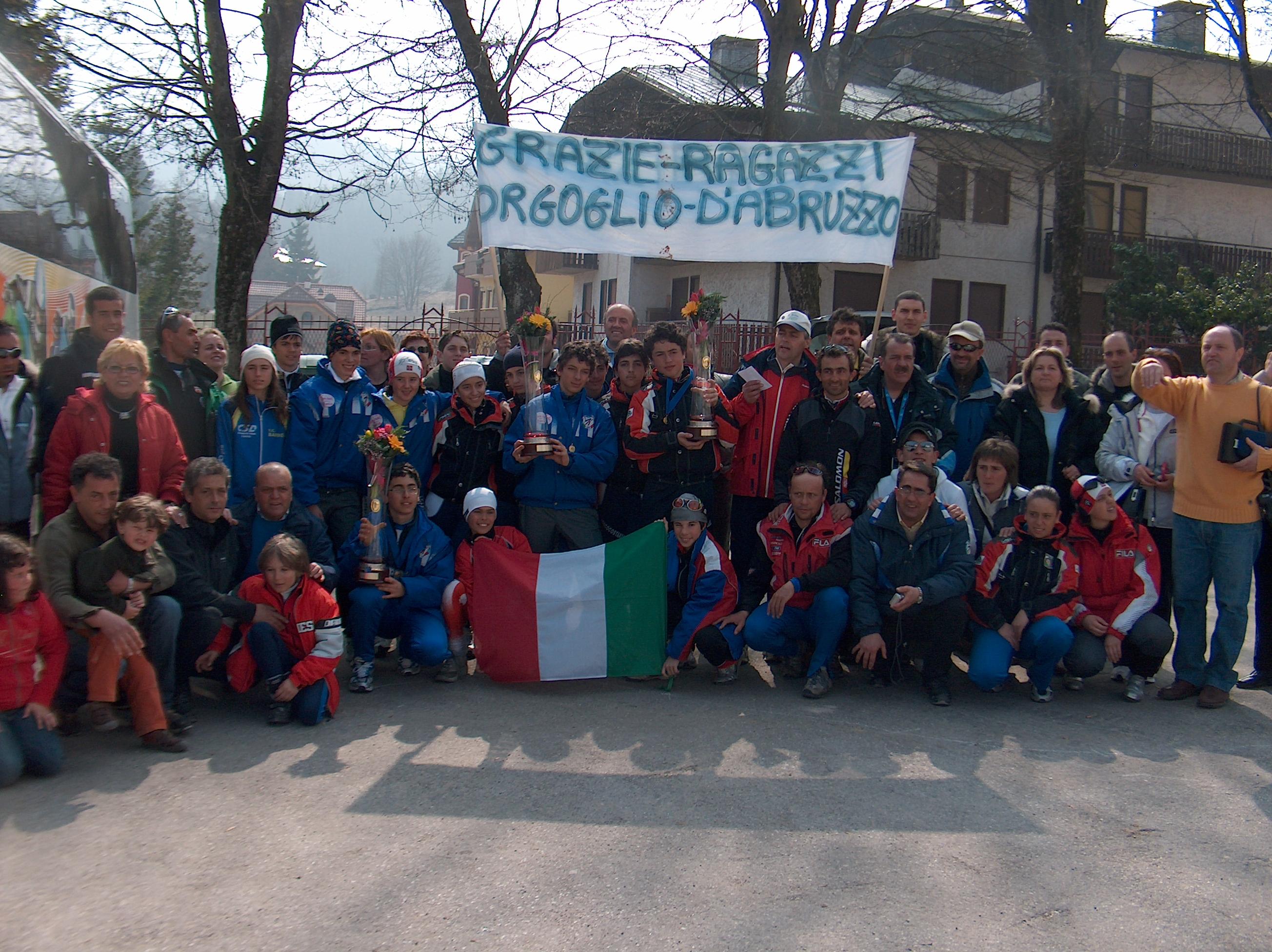 2007 asiago camp italiani