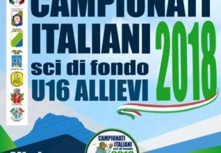 Brochure campionati italiani sci di fondo under 16